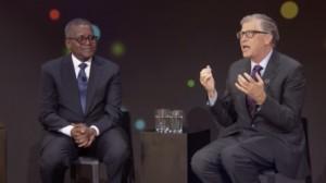 News: World's 2nd Richest Man, Bill Gates Talks About Having Nigerian Billionaire, Dangote As A Friend