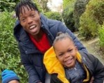 Naira Marley's Brother Meets The Rapper Children In London For the First Time (Photos)