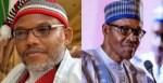 Buhari's Nationwide Broadcast Was Not Done In Nigeria – Nnamdi Kanu