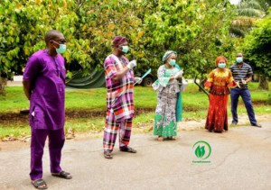 #COVID19: Farmkonnect distributes food items to 1200 families in Oyo state and Osun state
