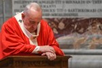 #COVID19: Pope Francis Cries Out After Celebrating Palm Sunday In Empty Church
