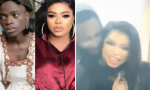 Man seen passionately romancing and 'kissing' Bobrisky (Video)
