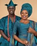 Funke Akindele and JJC Skillz turn their 4th wedding anniversary into a wedding vow renewal (photos)