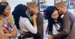 Watch the moment Nengi curved Ozo's goodbye kiss after his eviction (Video)