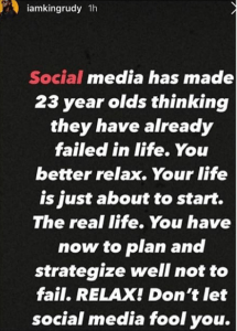 """Social Media Has Made 23-Year-Olds Think They Have Failed In Life"" – Paul Okoye"