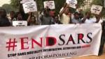 Gridlock As #SARSMustEnd Protesters Block Lekki Toll Gate