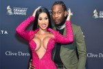 Cardi B and her estranged husband Offset fuel reunion rumors as they share a kiss during her WILD 28th birthday party in Las Vegas