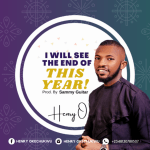 [Music + Lyrics]: HENRY O - I WILL SEE THE END OF THIS YEAR