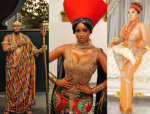 Celebrities show up in style for the premiere of the 'Coming 2 America' in Lagos (photos)