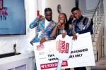 Nigerian Rising Female Hip Hop Artiste And Movie Actress, Ayice Has Emerged Winner Of 100% Entertainment Reality Tv Show Season 2