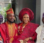 First photos from Tobi Bakre and Anu Oladosu's engagement ceremony