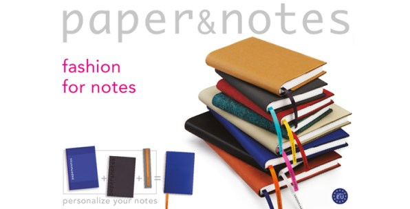 'Fashion your notes' met Paper & Notes