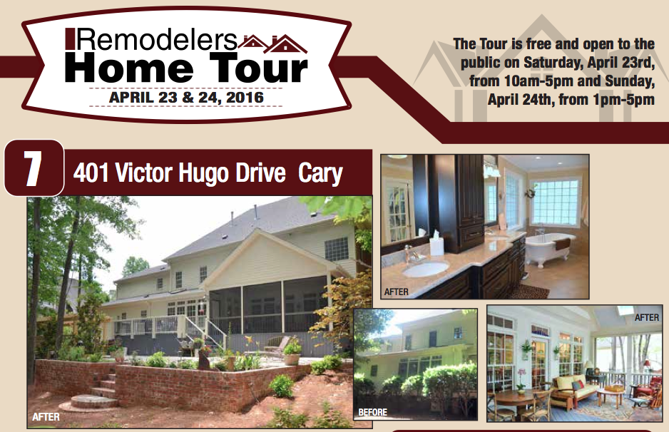 2016 Remodelers Home Tour – April 23 & 24
