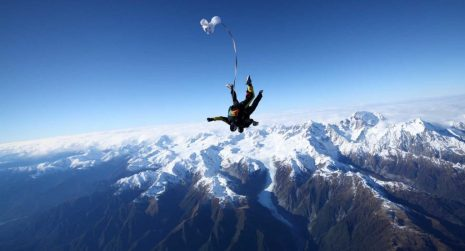 Fox Glacier 2018 skydive