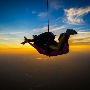 pocono mountain usa sky dive