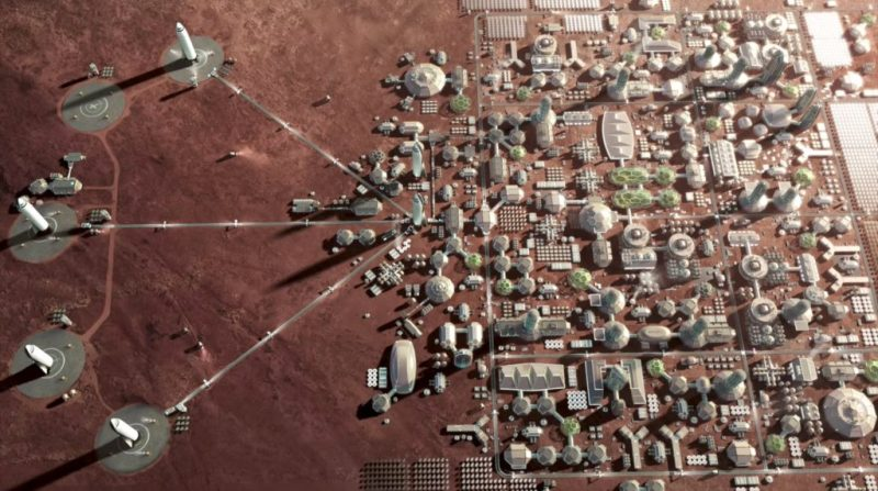 SpaceX future plans - mars colony - 2018 - buy tickects to mars