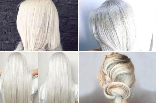 Marshmallow Hair - best hair color trends for 2018