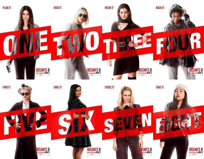 Oceans 8 cast 2 - 2018 -Ocean's 8 release is upon us -But can it live up to expectations- trendMut