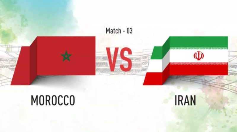The Third match of FIFA Worldcup 2018, Morocco Vs. Iran - stats - 2018 - TrendMut