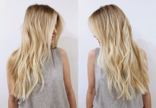 baby blonde hair - best hair color trends for 2018