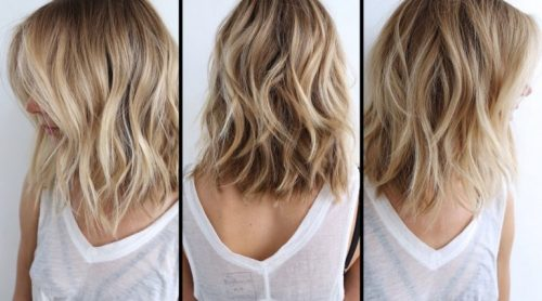 balayage blonde hair - best hair color trends for 2018