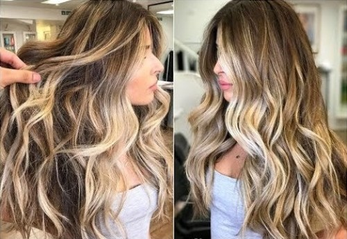 balayage hair - best hair color trends for 2018