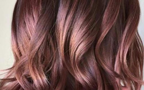 chocolate mauve hair - best hair color trends for 2018