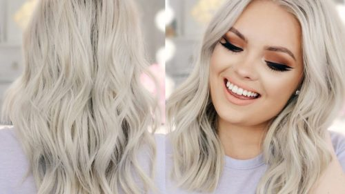 platinum hair - best hair color trends for 2018