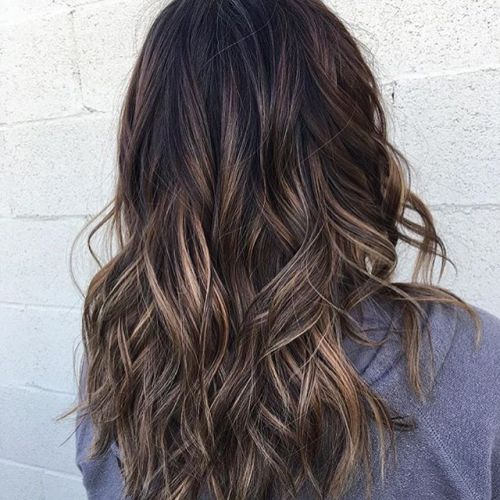 sunkissed brunette hair - best hair color trends for 2018