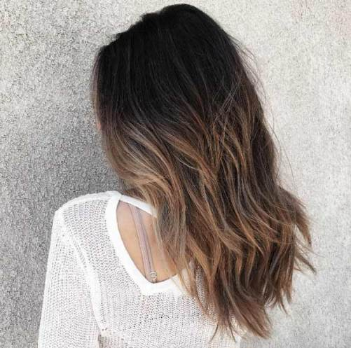 sunkissed ombre hair - best hair color trends for 2018