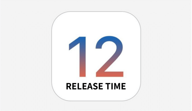 iOS 12 Release Date and time