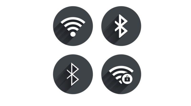 bluetooth or wifi