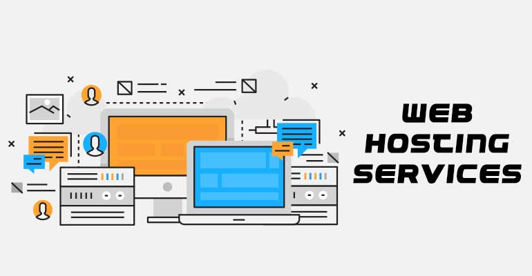 Web hosting services types