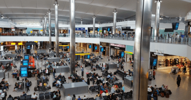 facts about Heathrow Airport in London