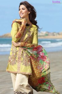 1585-SUNSHINE EMBROIDERED LAWN UNSTITCHED 5,790