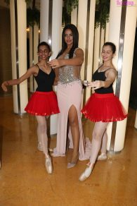Neetu Chandra with Dancers at India Dance Week