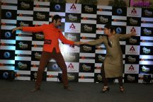 Sandip Soparrkar and Sharbani Mukherji performing