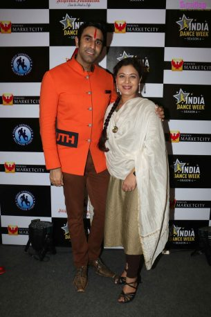 Sandip Soparrkar with Sharbani Mukherji at India Dance Week