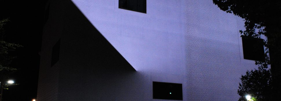 Facade Lighting with Beamer