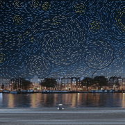 Amsterdam's Light Festival Puts Van Gogh's Starry Night In A New Light.