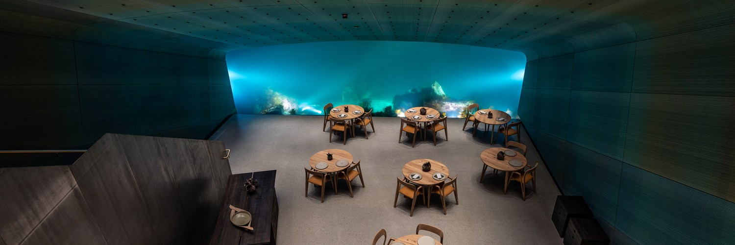Under. Europe's First Underwater Restaurant