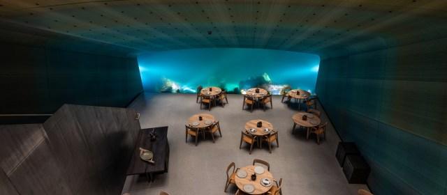 Under. Europe's First Underwater Restaurant