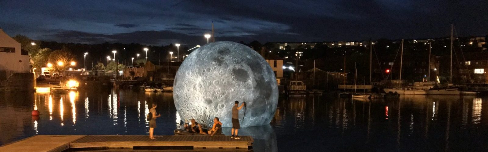 Museum Of The Moon Is A Touring Artwork By UK Artist Luke Jerram.