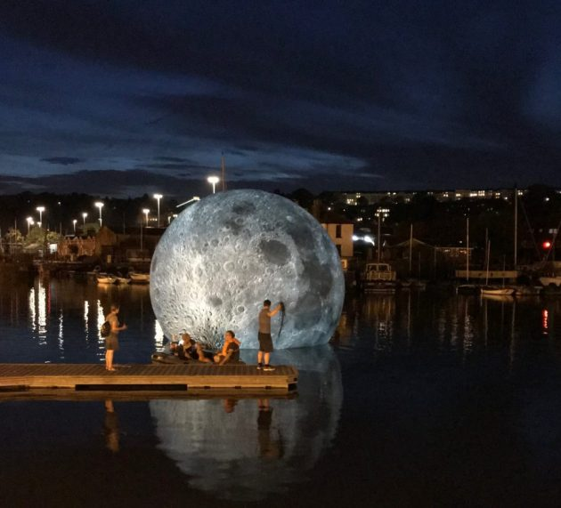 Museum Of The Moon Is A Touring Artwork By UK Artist Luke Jerram.
