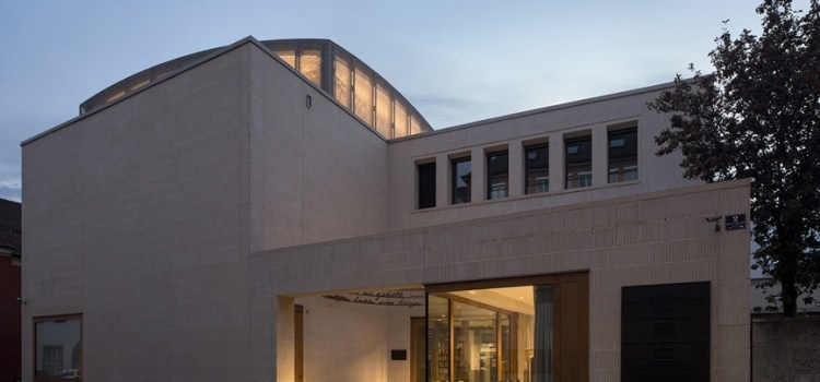 New Jewish Community Centre And Synagogue In Regensburg