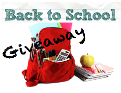 Back to School Giveaway (valued at over $300)! #BTSswag