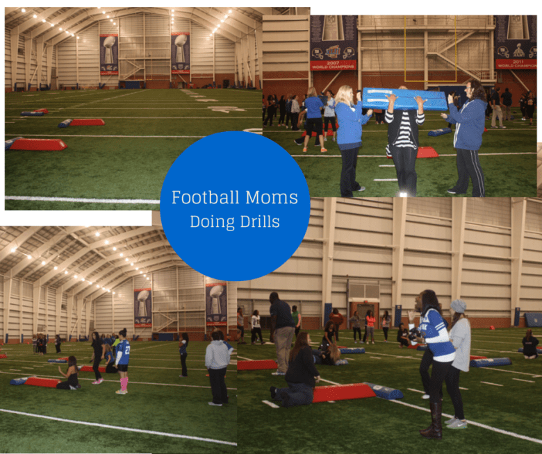 NFL Moms Clinic School Yard Style