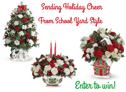 Teleflora Holiday Collection Giveaway!