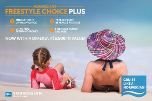 No need to Freeze in February, when we have great deals from Cruise Norwegian!