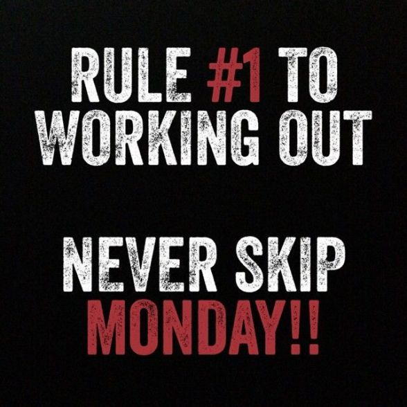 fitness monday 2